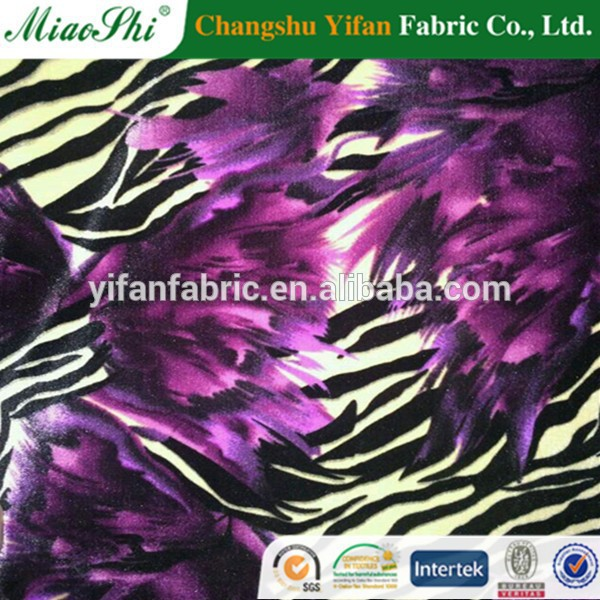 high qulity solid color velvet,stock cheap velvet fabric