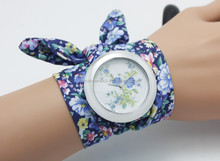 2014 new product hot cloth watch strap watches for ladies fashion womens watch