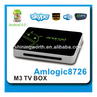 Smart TV Box, New DVB-T Set Top Box with Android 4.0,HD DVB-T Box(full 1080p,3D graphic)