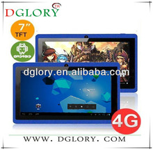"DG-TP7001 Q88 7"" tablet PC A23 512MB/4GB hot selling tablet PC"