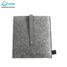 Customized simple style colorful super quality flip felt fabric laptop sleeve