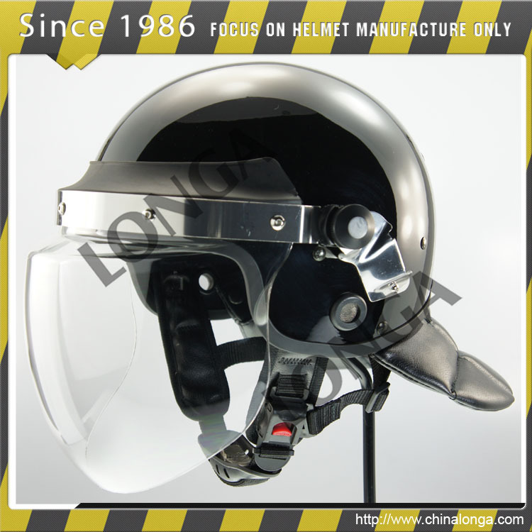 New Modern Military Safety riot Helmets With Visor and police Anti Riot Helmet