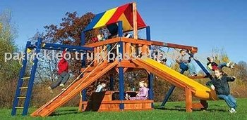 Carnival Clubhouse Design #8 Swing Sets