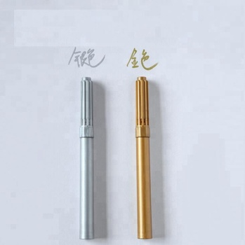 Water based sliver and gold marker forbottle or card writing