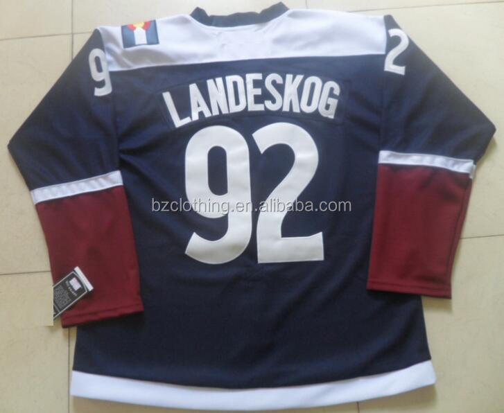 Gabriel Landeskog #92 Colorado Avalanche Stitched National Hockey Jersey