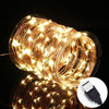USB LED Fairy Starry String Lights Warm White, Waterproof Decorative Rope Lights for Indoor Outdoor Bedroom Patio Garden Party