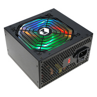 High efficiency power source single 12V rail RGB LED pc power supply