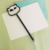 Black shape pen with Panda design top shape pen for kids