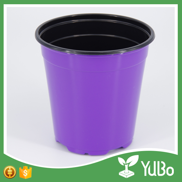 Hot sale custom designs colorful 4 inch plastic garden plants flower pot for online