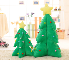 2017 Hot selling cheap plush christmas tree ornaments christmas plush toy