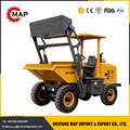 2ton hydraulic self-loaded site dumper factory price