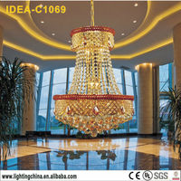 C1069 crystal ball chandelier,europe crystal chandelier,multi color crystal chandelier