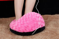 USB heated slippers,USB foot warmer,electrically heated slippers