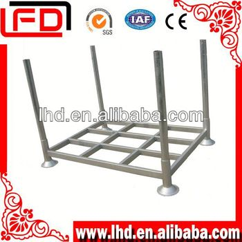 Double faced Euro steel pallet for fruit transportation