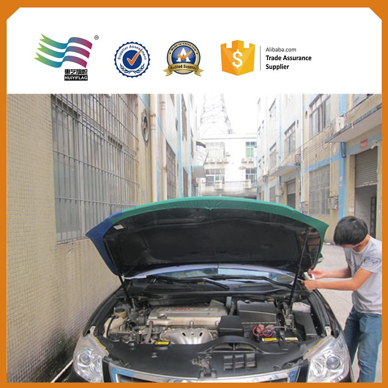Promotional Qatar National Flag Car Hood Covers