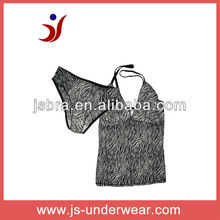 js-173 Sexy Girl Camisole with Panty of leopard printing