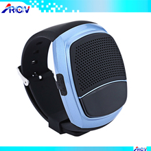 Jazz music bluetooth wireless B90 Bluetooth Watch Speaker for Hands-free Answer Calls Sports Music FM Function cheap speaker