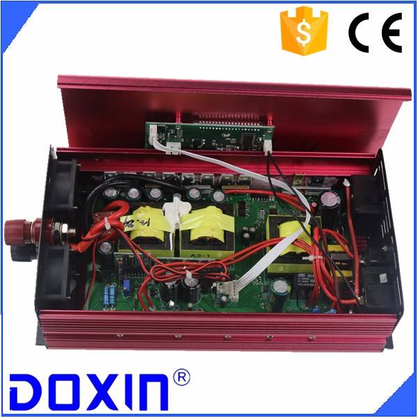 UPS power inverter 1500w 12v/24v to 220v dc to ac with battery charger, China supplier