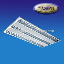 T5 built in 1200x600 grid fluorescent ceiling light fixture 3*28W ceiling receesed grill light panel