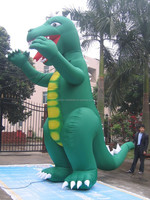 2014 giant custom inflatable dinosaur model cheap on sales