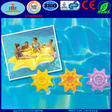 New multicolor Inflatable Starfish Pool Floating Island