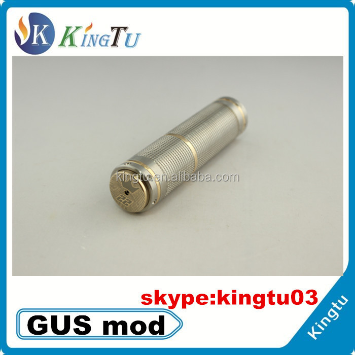 Beautiful Laser engraving E cigarette mod, electronic cigarette hammer gus mod