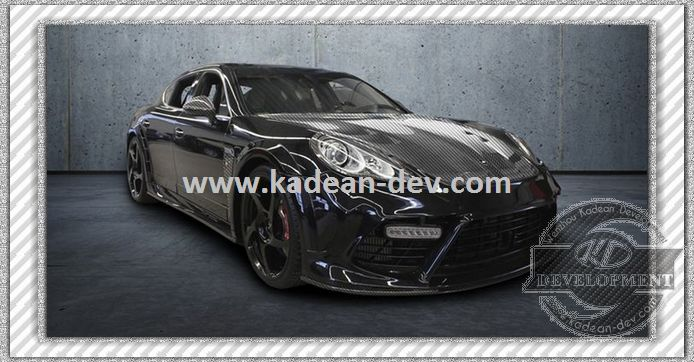 11- FOR PANAMERA MIRROR COVER CF DRY CARBON