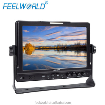 new 10.1 1280x800 monitor with Dual SDI input as dslr camera accessory FW1019
