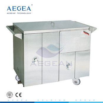 AG-SS035D with heat preservation under steam keep food cart for delivering meal