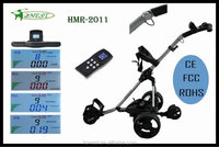 The high quality Latest Design Lithium Power Electric cheap golf trolley golf buggy golf cart for sale HMR-2011
