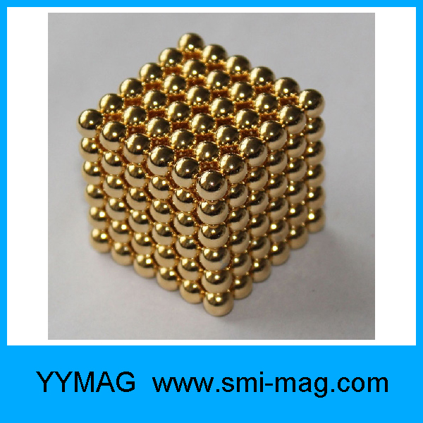 magnetic toy for adults 5mm colorful neodymium sphere magnet for sale