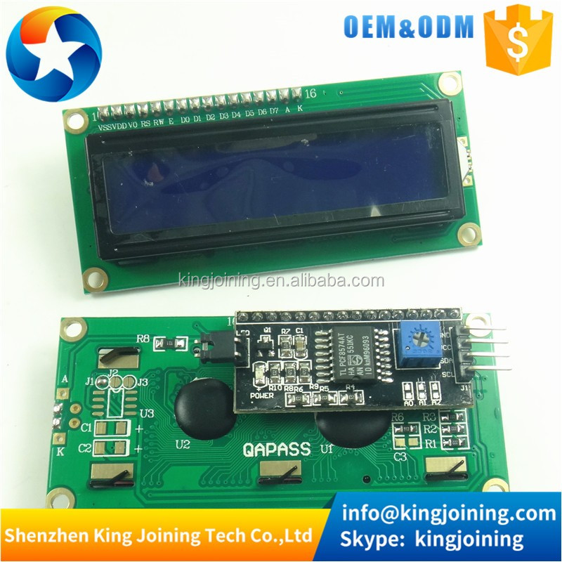 KJ183 IIC / I2C 1602 Serial Blue Backlight LCD1602 Module Display For Arduinos 2560 UNO AVR A004