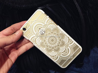 Phone Case for Apple iphone5 5s Vintage Flower Pattern Fashion Luxury iphone6S phone Back Cover