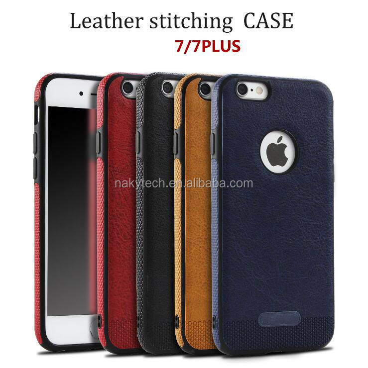 High quality matte stick skin tpu with camera hole protective mobile phone case for iphone 7/7 plus