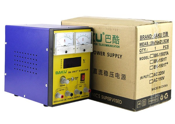 BAKU Wholesale Superior Quality Low Price Power Supply BK-1501T+