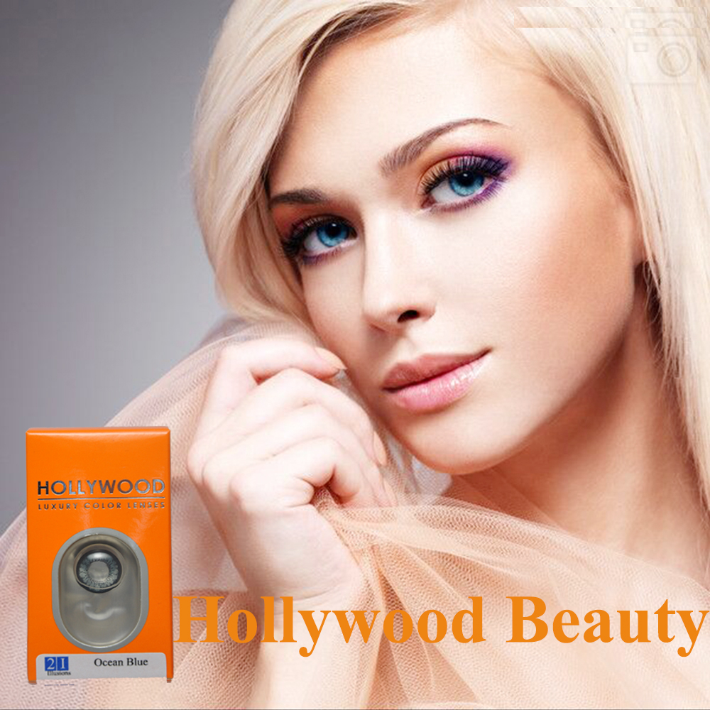 free case 200 pairs freeshipping hollywood contact lenses 20 colors with case inside colored contact lenses Halloween