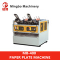 MB-400 The Best Manufacture medium Speed Paper Plate making Machine supplier