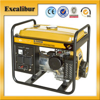 2016 2kva 5hp Single Phase Robin type gasoline generator for sales