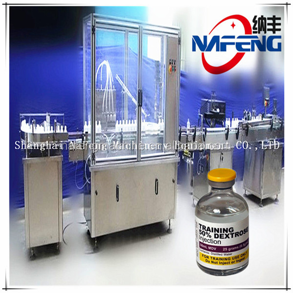 NFGXL-50 type product line filling example of big glass bottle