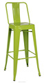 Iron chair with backrest/different height/various color to choose TF- T1001A