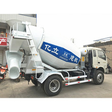 Factory price Dongfeng Chassis 140HP 5M3 Concrete Mixer Truck For Sale