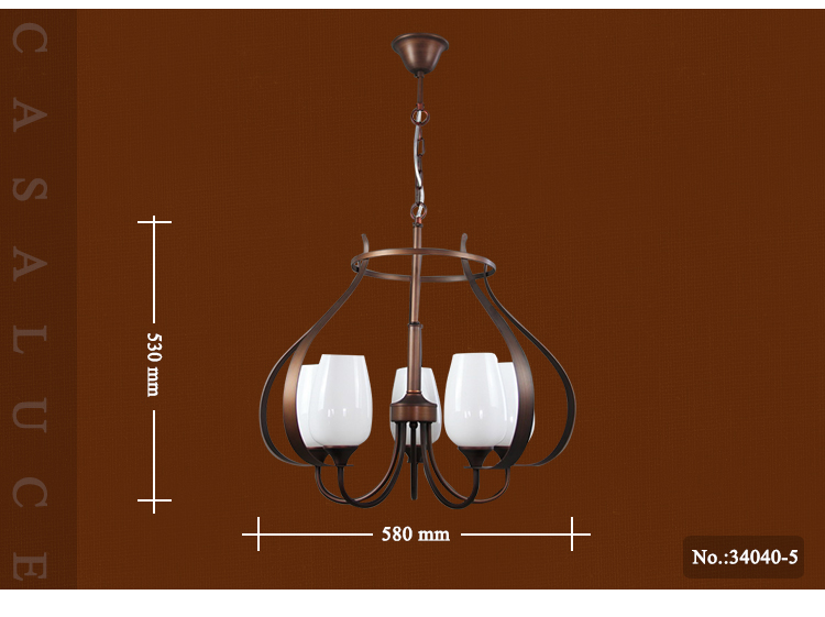 Decorative light factory glass lampshades bronze brass metal low ceiling luminaire wedding chandelier