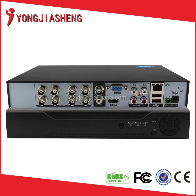 Economical H.264 Real time D1 4/8/16/32CH support 3G&WIFI&PTZ&VGA&Audio CCTV DVR