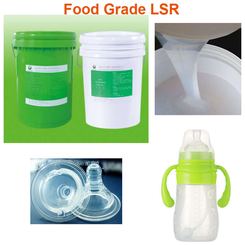 Silikon Food Grade Liquid Silicon Rubber for Making Mould