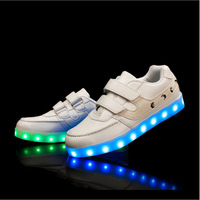 2017 high quality men women kids LED shoes
