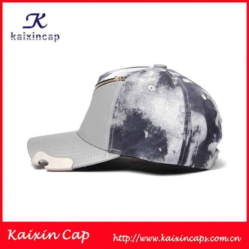 Hoop Ring New Style PU Leather Sport Style Baseball Cap With Embroidery