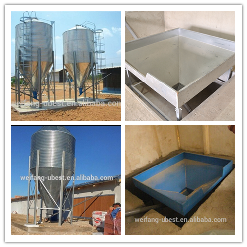U-BEST long life chicken poultry farm equipment in Africa