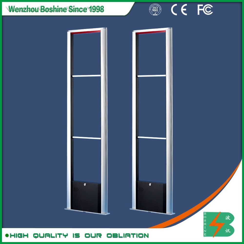 Boshine library eas alloy aluminum 8.2khz RFID security gate