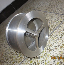 GB Stainless Steel Disc Check Valve, Wafer Type Single Disc Swing Check Valve PN25