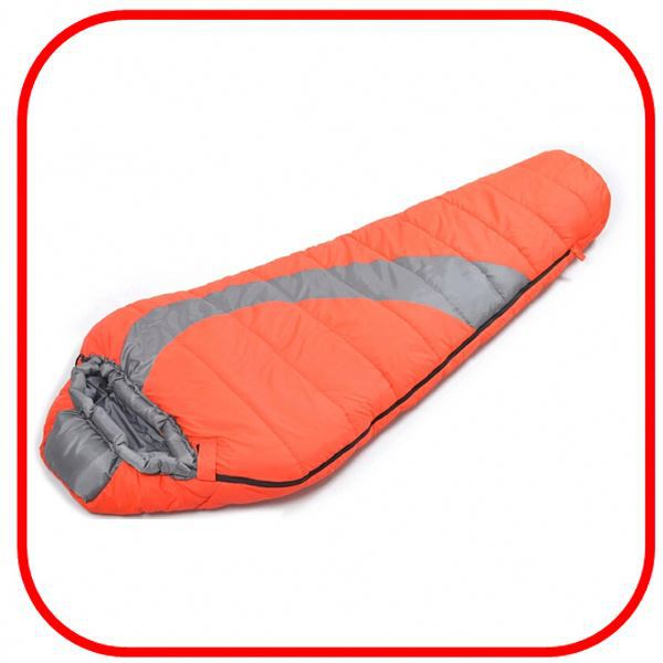 Best Selling High Quality Portable outdoor hiking climbing winter sleeping bag thickening camping sleep bag